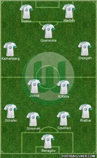 Composition : Wolfburg 2885_VfL_Wolfsburg