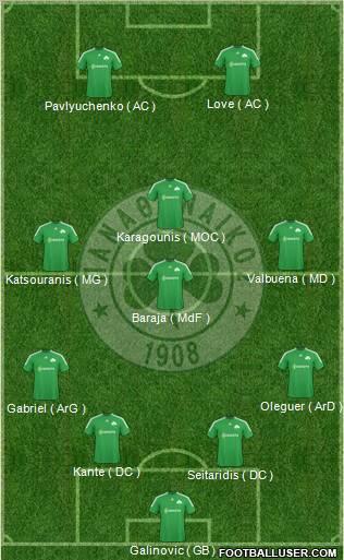J1/ Foot Addict FC 0-0 Panathinaikos 15854_Panathinaikos_AO