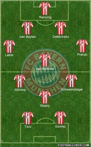Bayern 2009/10