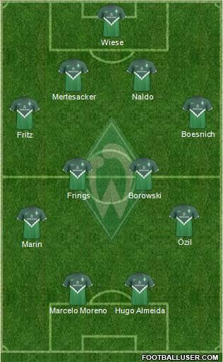 Werder Bremen 2009/10
