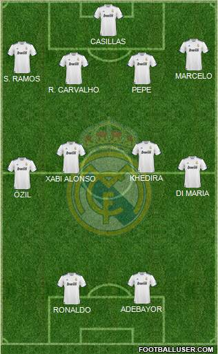 real madrid 2011 squad photo. real madrid 2011 squad.