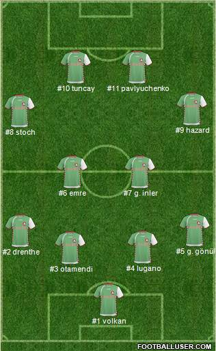 Cork City football formation
