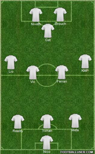 Mash'al Mubarek football formation