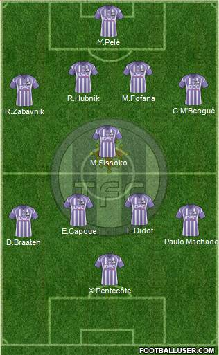 Toulouse football club france football formation - Formation cuisine toulouse ...