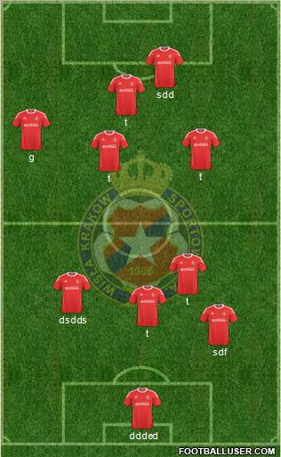 Wisla Krakow football formation