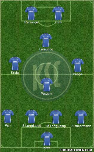 Karlsruher SC football formation