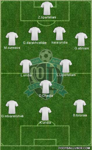 Dinamo Tbilisi football formation