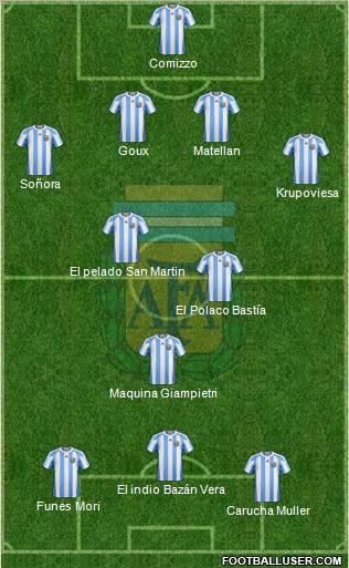 Messi, Maradona y Di Stéfano, los mejores de la LFP