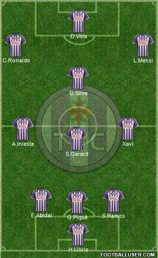 toulouse football club france football formation. Black Bedroom Furniture Sets. Home Design Ideas