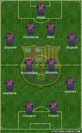 Peor once de la historia del Barcelona