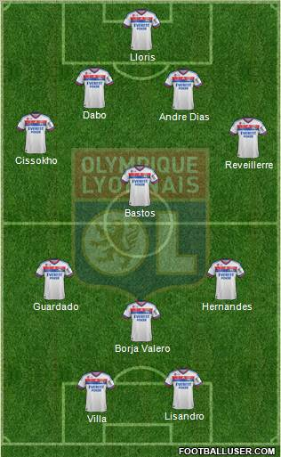 Primera Fecha Mourinho League. 318203_Olympique_Lyonnais