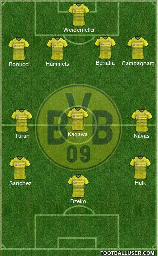 Borussia Dortmund players:
