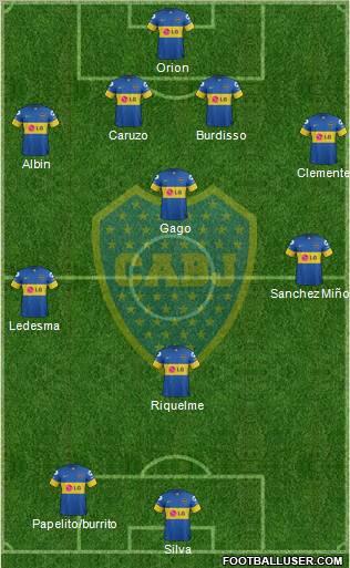 Posible formacion Boca 2013
