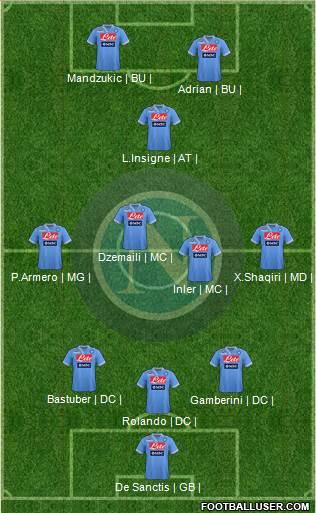 Fiorentina 3 - 2 Naples [SEM1] (Amalfitano blesser) 682980_Napoli