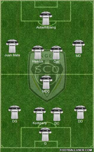 angers sco france football formation by djul