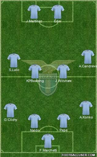 Alineacion cc Lazio 909028_SS_Lazio