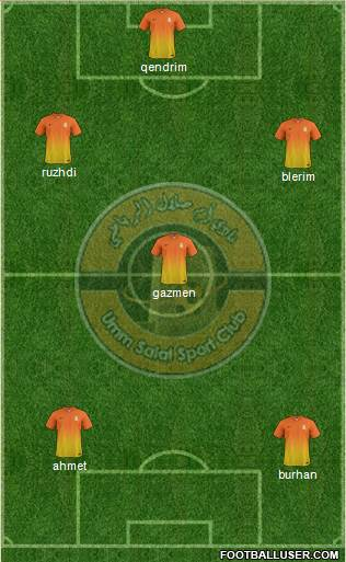 Umm-Salal Sports Club football formation