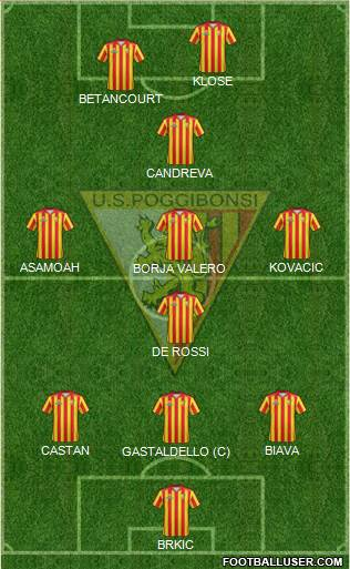 Poggibonsi football formation