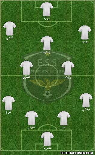 Entente Sportive Sétifienne football formation