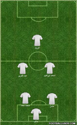 Euro 2012 Team 4-5-1 football formation