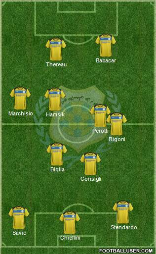 Ismaily Sporting Club 3-5-2 football formation