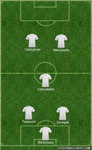 CD Cristo Rey 4-2-4 football formation