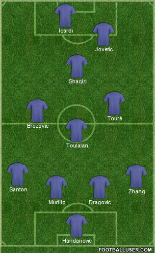 Football Manager Team 4-3-1-2 football formation