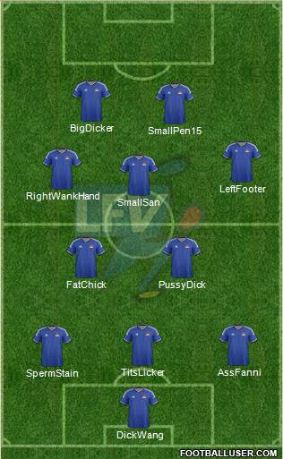 Liechtenstein 4-2-3-1 football formation