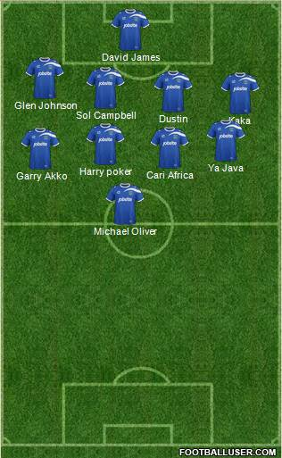 Portsmouth 5-4-1 football formation