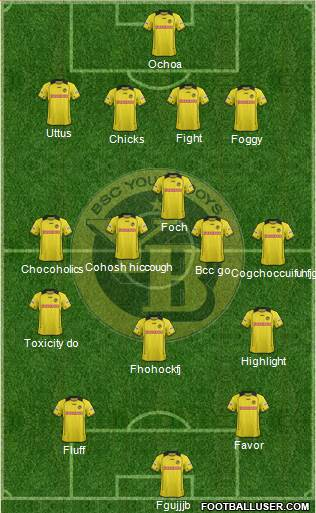 BSC Young Boys 3-4-1-2 football formation