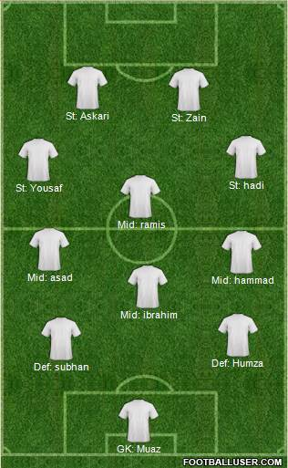 New South Wales Institute of Sport 4-1-4-1 football formation