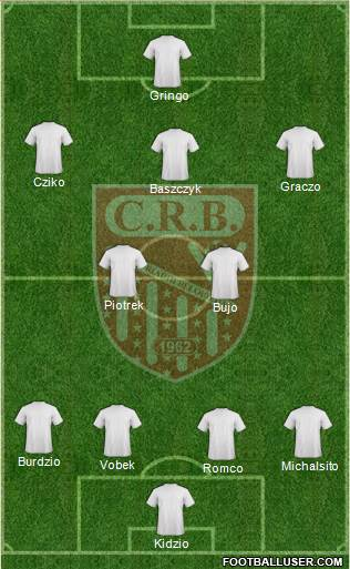 Chabab Riadhi Belouizdad 3-5-1-1 football formation