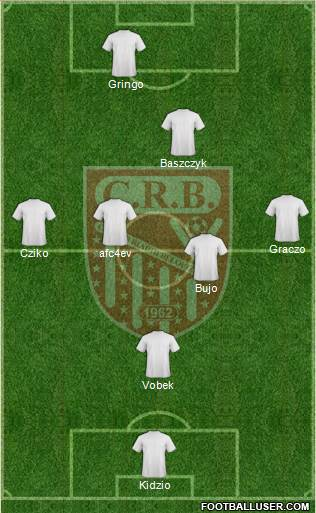 Chabab Riadhi Belouizdad 4-1-4-1 football formation