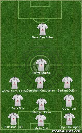Al-Sadd Sports Club 4-1-4-1 football formation