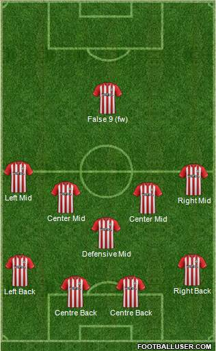 Southampton 4-1-4-1 football formation