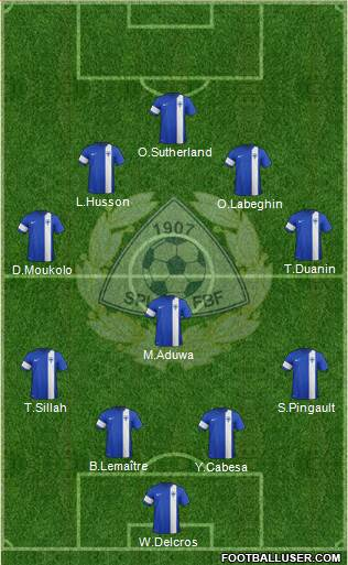 Finland 3-5-2 football formation