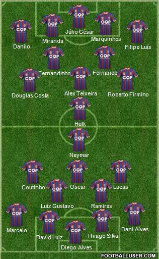 Newcastle Jets 4-2-3-1 football formation