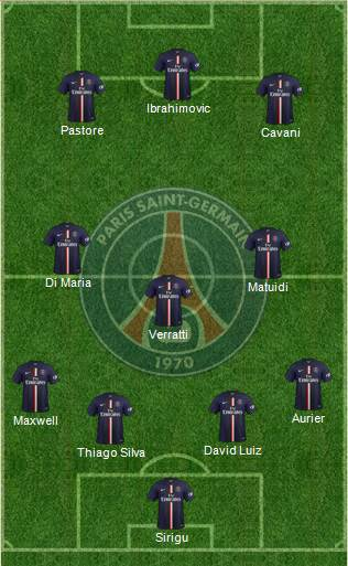 Psg 2016 Formation