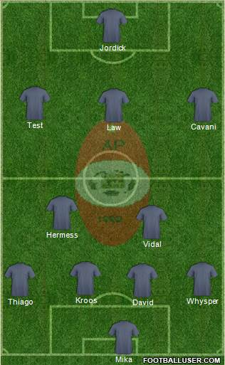 C Atlético Pompeya football formation