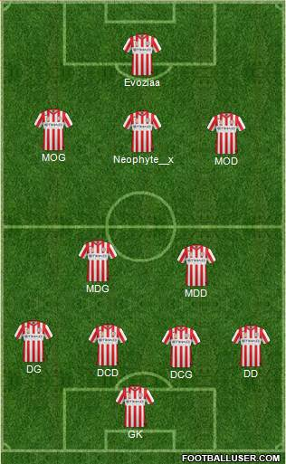 Melbourne Heart FC 4-2-3-1 football formation