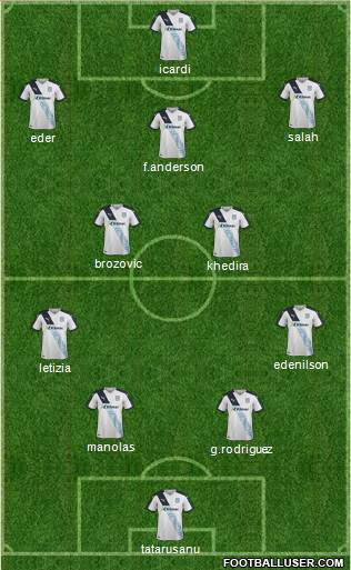 Dundee 4-2-3-1 football formation