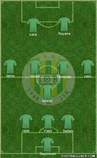 Jeunesse Sportive de Kabylie football formation