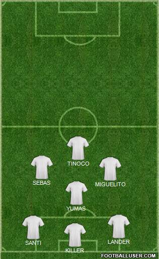 Euro 2016 Team 4-4-1-1 football formation