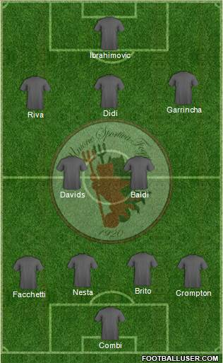 Foggia 4-2-3-1 football formation