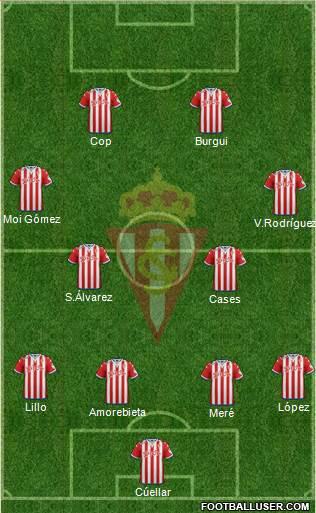 11 del Sporting de Gijón