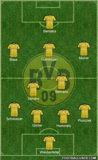 dortmund football website