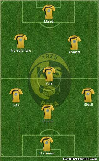 KS Besa Kavajë 4-1-3-2 football formation