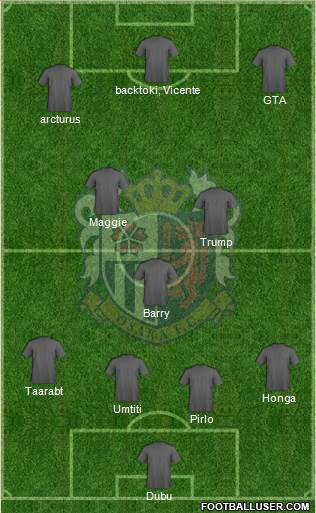 Cerezo Osaka 4-3-3 football formation