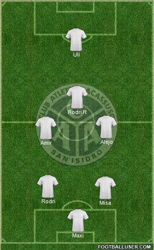 Acassuso football formation