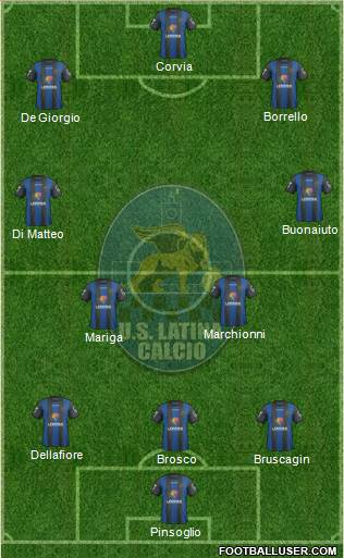 Latina football formation